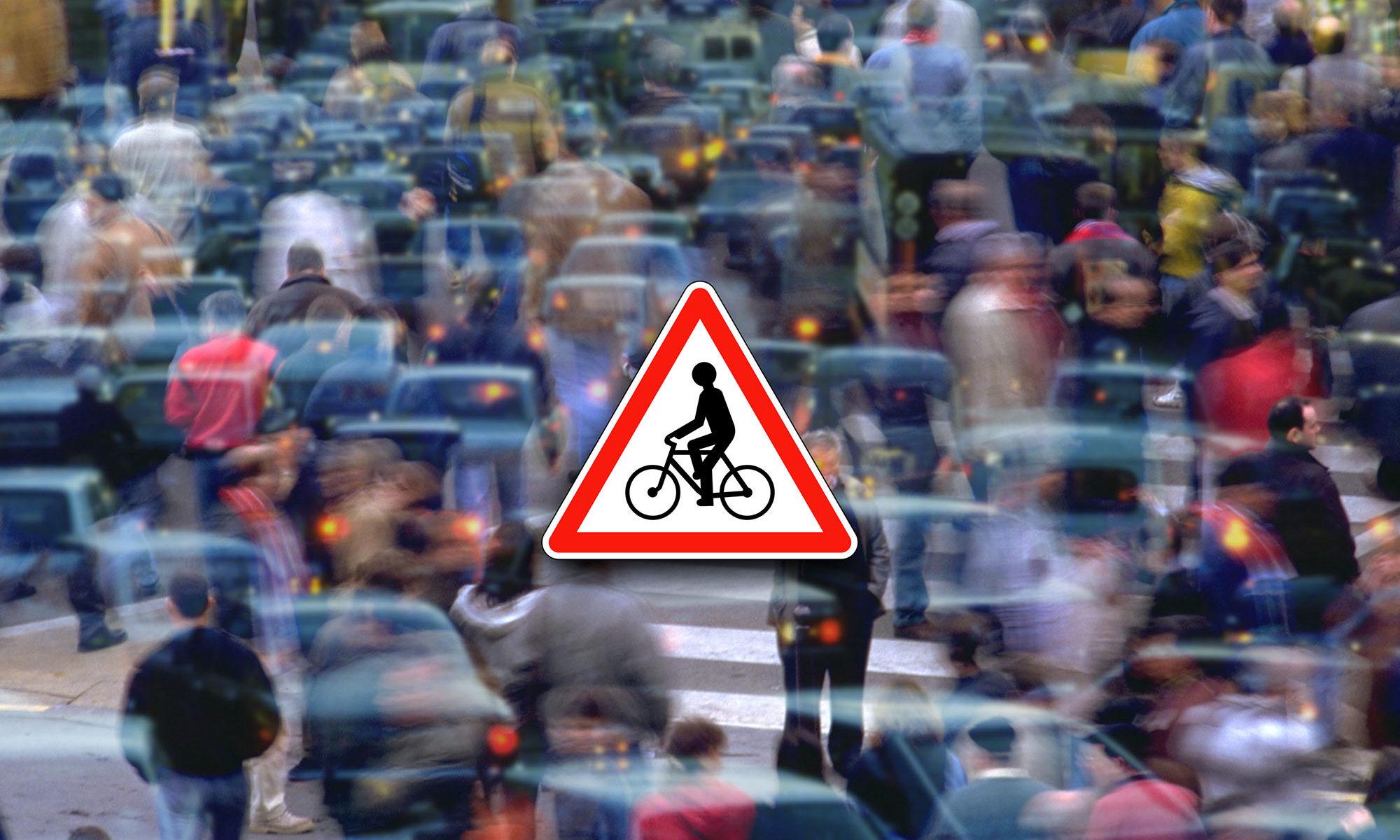 Danger cycliste !