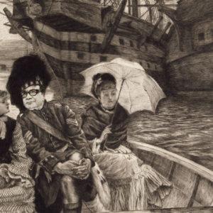 James Tissot aurait peint l'arrière-grand-père de Jean Blaise lors d'un voyage à Nantes