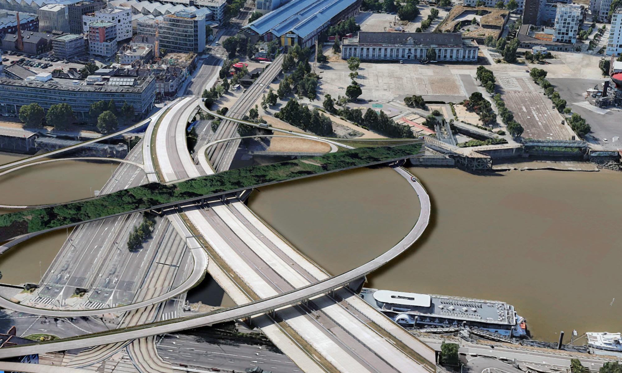 Le nouveau pont ne coûtera qu'un demi-Arbre aux hérons