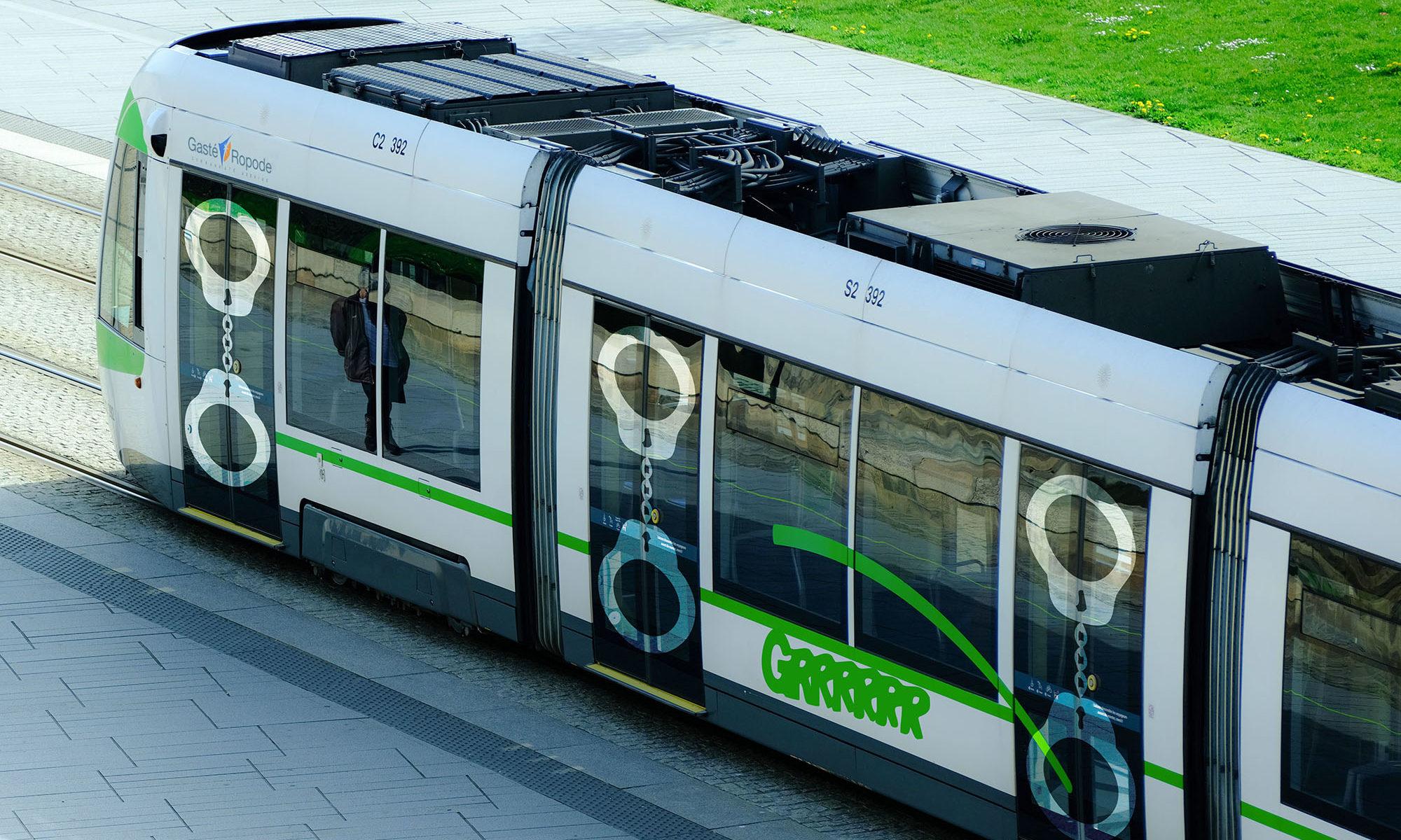 Le projet de déco des tramways nantais pour résoudre les problèmes d'insécurité