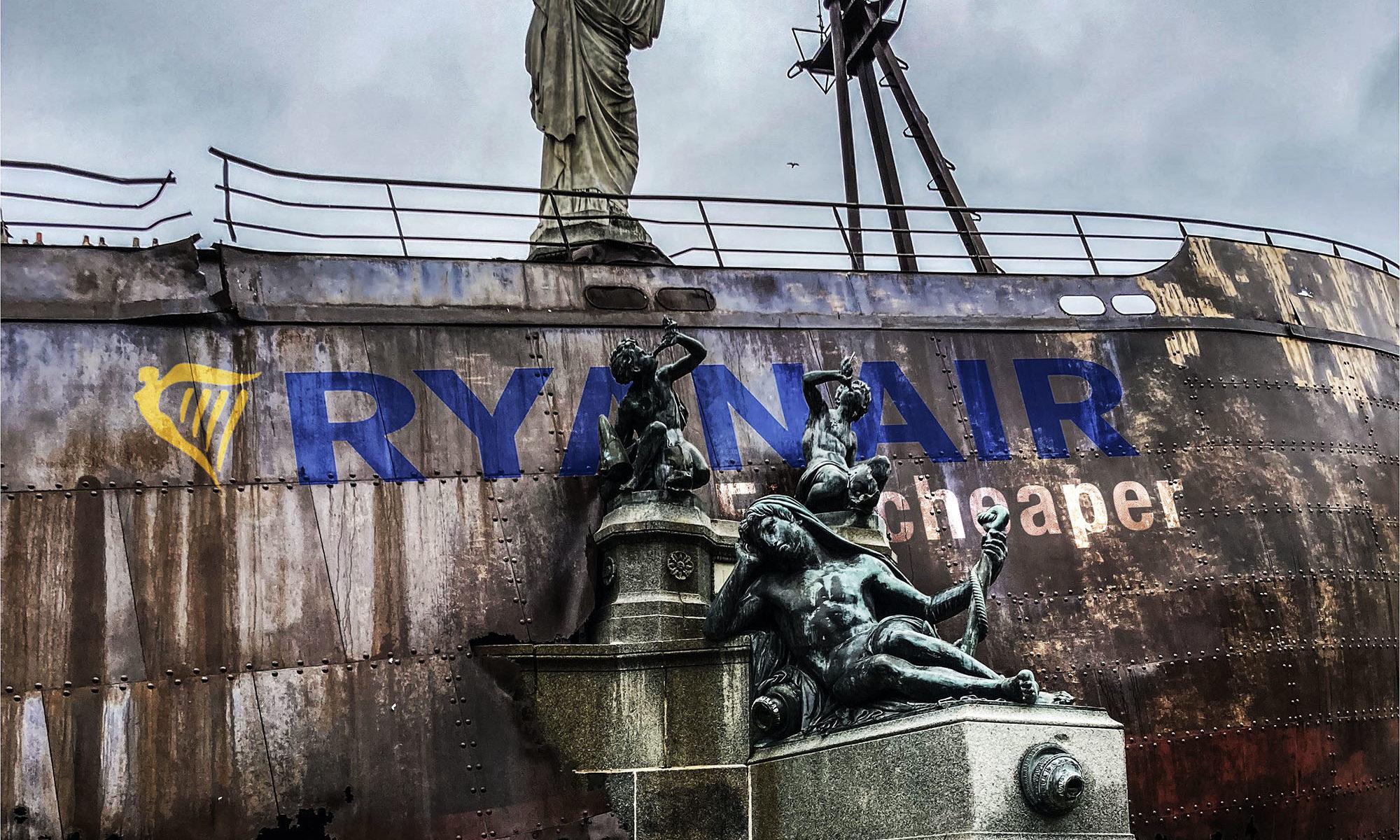 Quel message avec cette œuvre ? La fin du Voyage à Nantes ? Pour une dernière édition, nous aurions préféré le Naufrage à Nantes.